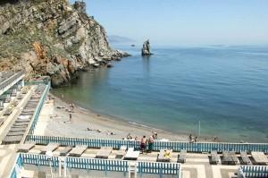 Санаторий Жемчужина Крым Пляж