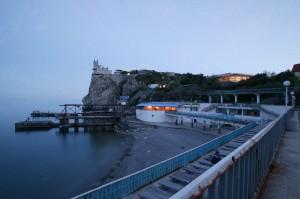 пляж санаторий Жемчужина Крым